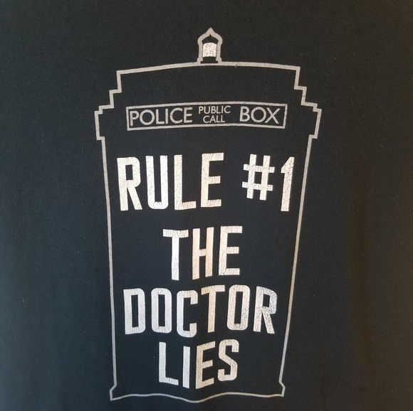 Hot Topic Tops - Dr. Who T-shirt Size Small